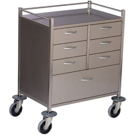 Drawer Trolley by 7 Drawer Trolley 750x490x970 Products Dalcross