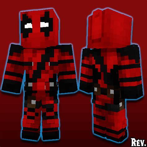 Minecraft Papercraft Deadpool - deadpool 2016 minecraft skin