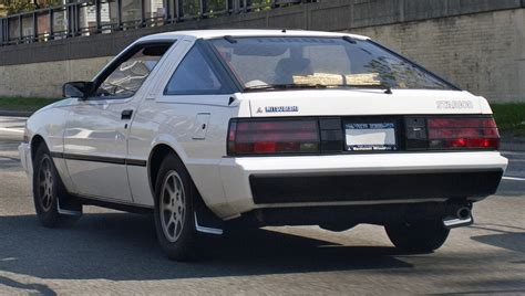 mitsubishi conquest 1988 mitsubishi starion photos informations articles