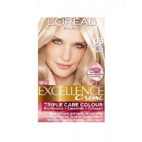 loreal excellence hair color ash loreal preference blondissimes 03 light ash