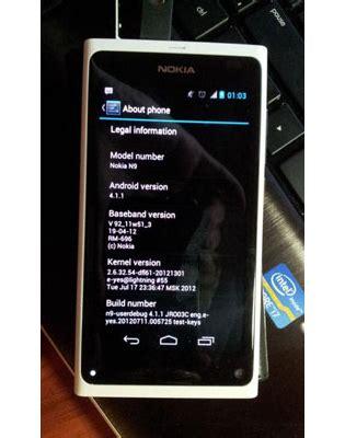Hp Nokia N9 nokia n9 dengan tilan android 4 1 jelly bean muncul di ubergizmo regi celluler