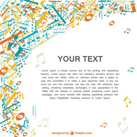 Color Spectrum colorful music background vector illustration vector