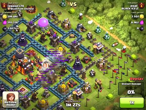 coc layout anti golem chion league golem wiz vs anti golemwiz layout youtube