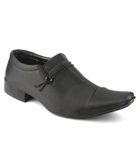 yepme official black formal shoes price in india buy