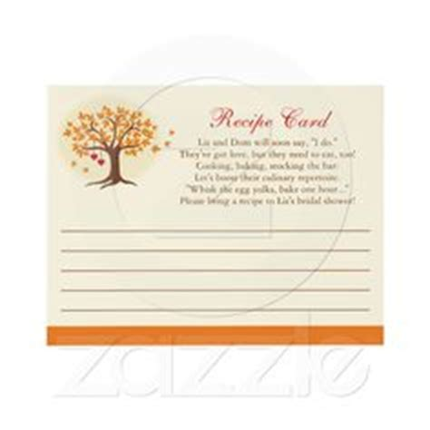 recipe poem for bridal shower 1000 images about shower on recipe cards marriage advice cards and poem