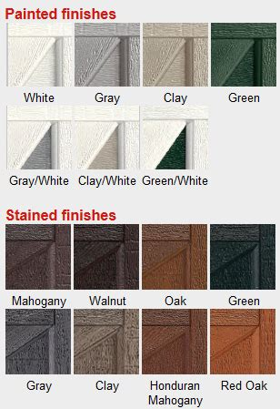 Garage Door Paint Colors Garage Door Painting Tips Garage Door Paint Colors