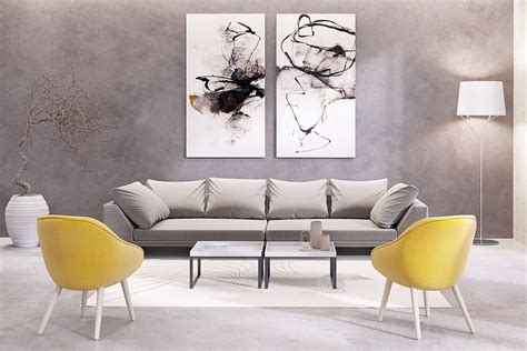 des idees inspirantes de toiles murales grand format pour