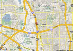 map of farmers branch map of days inn dallas farmers branch dallas