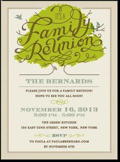 design a family reunion invitation what a cute way to get ready for a family reunion paper
