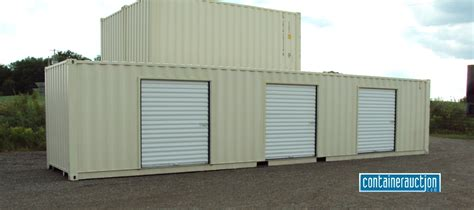 picture storage containers creating a storage facility with shipping containers