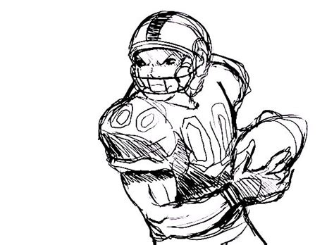 free coloring pages of nfl players
