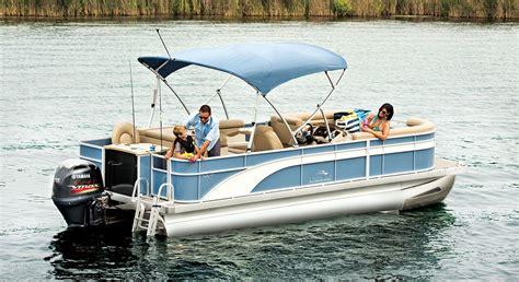 best pontoon boats for fly fishing sx22 cruise fishing pontoon boats by bennington
