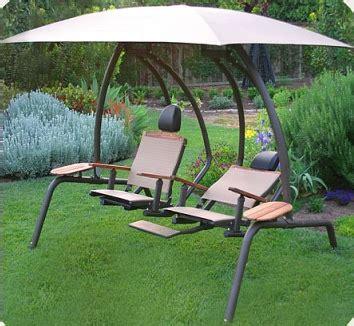 reclining porch swing the ultimate dual recliner swing set swings n things