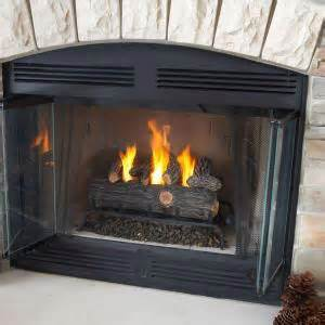 real 24 in oak convert to gel fireplace logs 2609 o