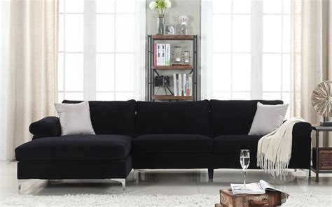 amanda modern velvet large sectional sofa best 25 large sectional sofa ideas on comfy