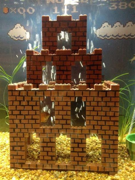 Mario Brothers Aquarium Decorations by Retrofied Mario Lego Aquarium Decorations Bit Rebels