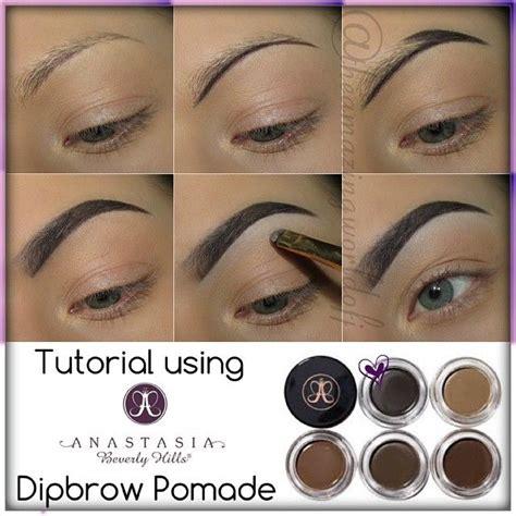 Pomade Eyebrow used anastasiabeverlyhills dipbrow pomade in