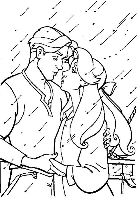 romantic moment anastasia and dimitri coloring pages
