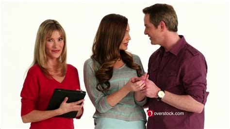 overstock commercial actress overstock com tv commercial engagement ring ispot tv