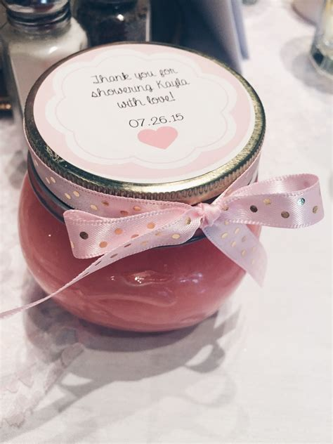 Best Shower Scrub by Pretty Pink Gold Bridal Shower Y