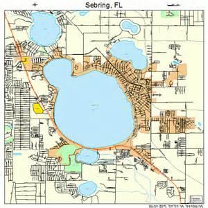 sebring florida map 1264875
