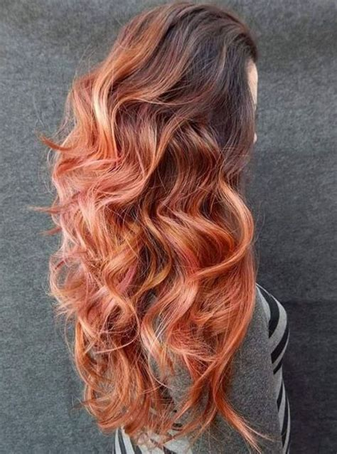 hairstyles with brown copper light brown stripes 40 hair color ideas that are perfectly on point