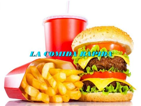 la comida de la 8492981822 la comida rapida