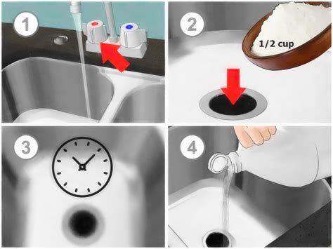 How To Fix A Clog Sink by 4 Ways To Unclog A Garbage Disposal Wikihow