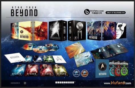 3d 2d Trek Beyond Steelbook 2 Disc trek beyond steelbook blufans oab china