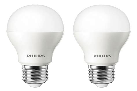 philips eclairage oule led philips standard 6 5w 40w culot e27 x2