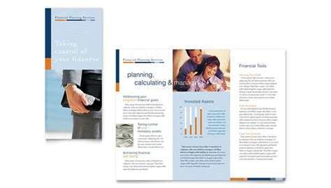Service Brochure Template by 8 Free And Platinum Financial Service Brochure Templates