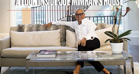 joe house twitter a look inside joe mimran s house sharp magazine