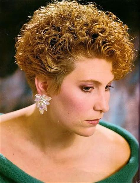very short permed hair 21 best tight perm images on pinterest curly hair curly