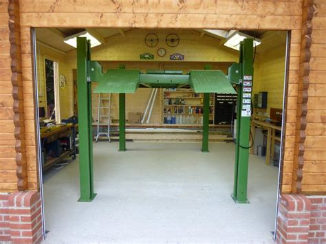 garage with workshop a timber garage for a classic car enthusiast keops