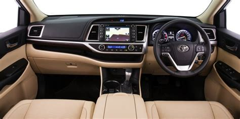 2014 Toyota Highlander Interior Dimensions by 2014 Toyota Kluger Highlander Australia Specs And Price