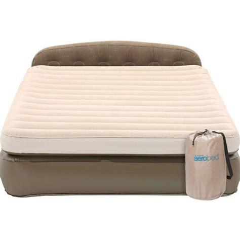 coleman aerobed height mini headboard mattress cing air bed 180 45