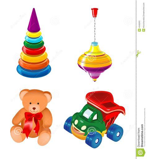 imagenes de juguetes vintage conjunto de juguetes fotos de archivo imagen 4449263