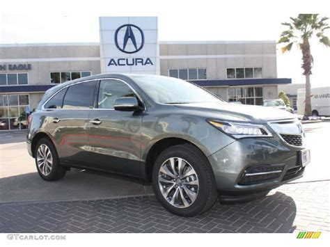 2015 forest mist metallic acura mdx technology 101090378 gtcarlot car color galleries