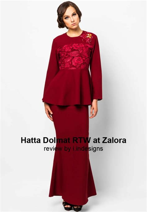 Design Dress Raya Terkini | baju hari raya collection by hatta dolmat rtw we were