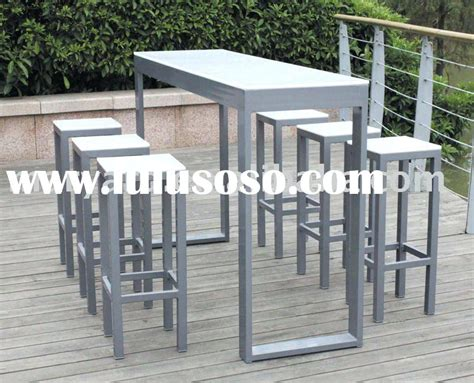 outside pub table and chairs outside bar table and chairs outdoor wicker pub with