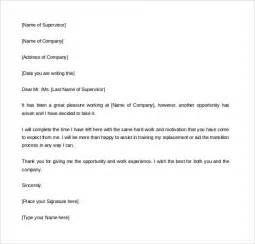 2 Weeks Notice Letter Template two weeks notice letter 31 free word pdf documents
