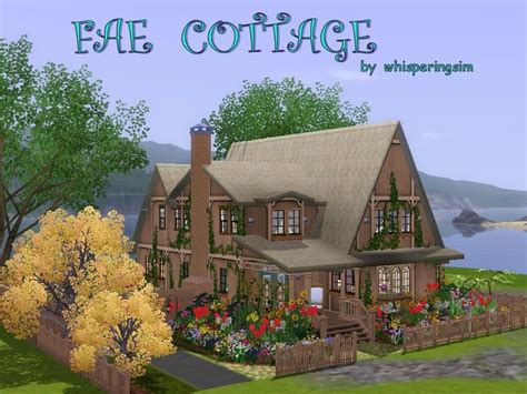 Sims 3 Cottage by Whisperingsim S Fae Cottage