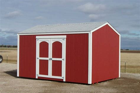 classic gable shed for sale in ks kansas outdoor structures
