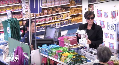 99 cent store kris jenner hilariously sent to a dollar store by ellen