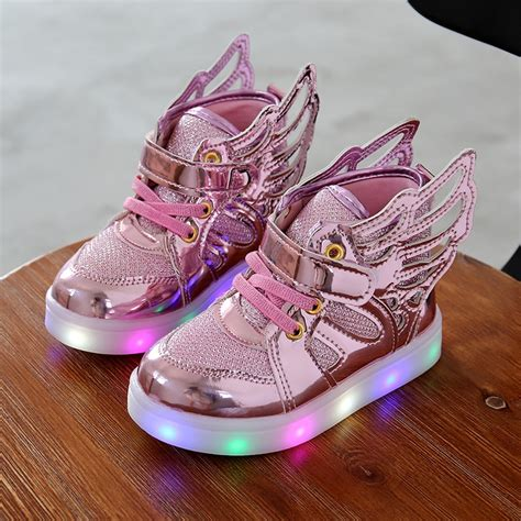 2016 New Children children shoes with light 2016 new children lighted shoes