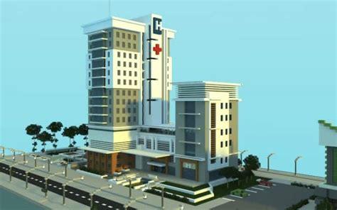 Minecraft Interior Design by Modern Hospital Minecraft Building Inc
