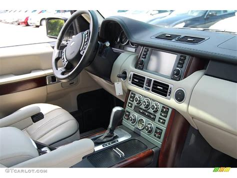 Black Range Rover White Interior by 2007 Chawton White Land Rover Range Rover Supercharged