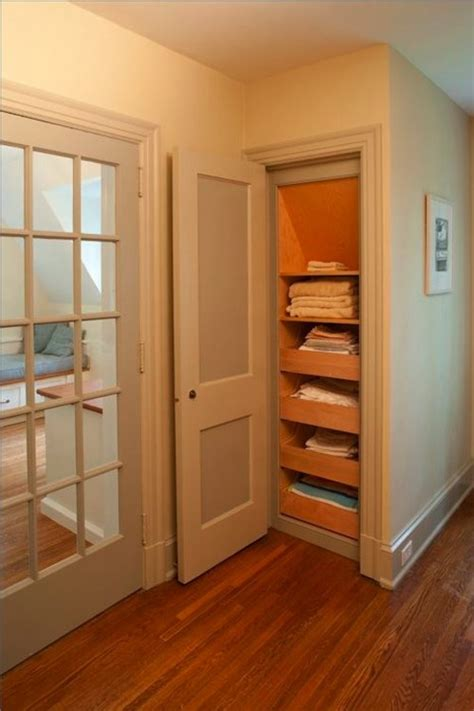 Narrow Closet Ideas by Idea For A Narrow Closet Closet Organization Ideas