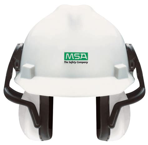 Earmuff Safety Msa helmet mounted earmuff