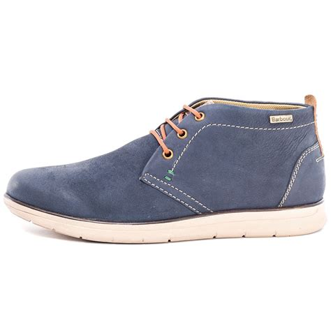 barbour bowlam mens casual shoes in navy